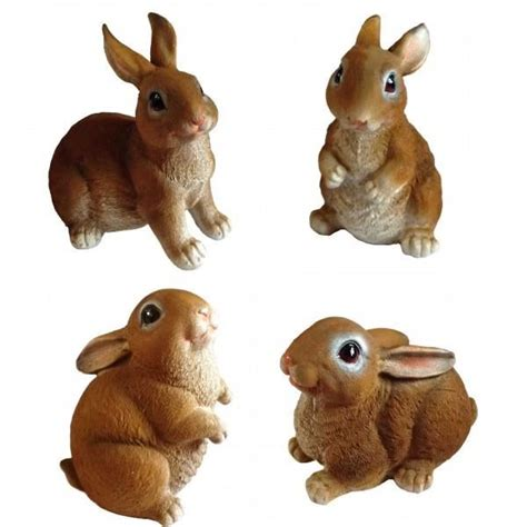 Decoration Lapin by D 233 Coration Jardin Lapin