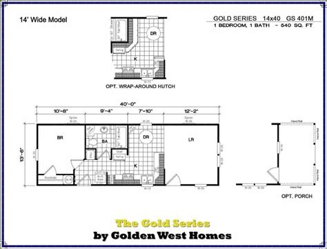 cabin floorplans 14x40 cabin floor plans