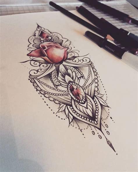 17 best ideas about mandala thigh tattoo on pinterest