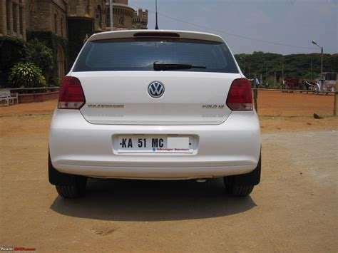 white volkswagen polo my german dream white vw polo 1 6l highline team bhp