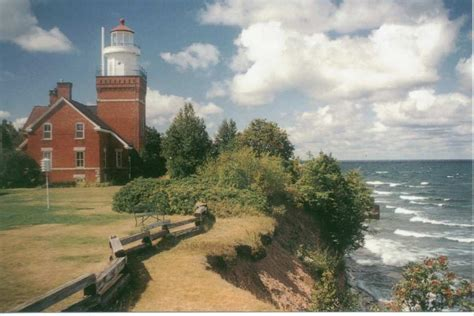 lighthouse bed and breakfast michigan s big bay point lighthouse b b gonomad travel