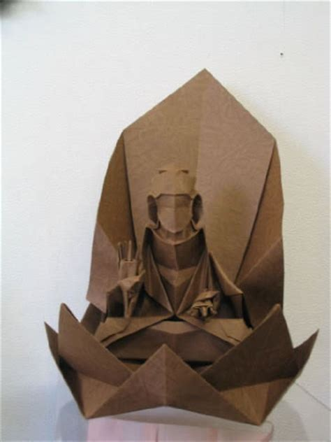 origami buddha photo gallery