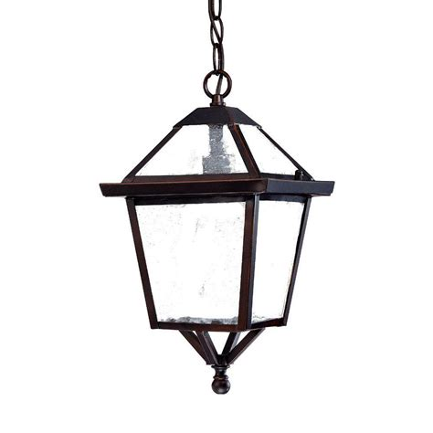 Architectural Outdoor Lighting Fixtures Acclaim Lighting Bay Collection 1 Light Architectural Bronze Outdoor Hanging Light