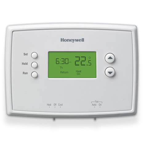honeywell 5 2 day prog low volt thermostat the home