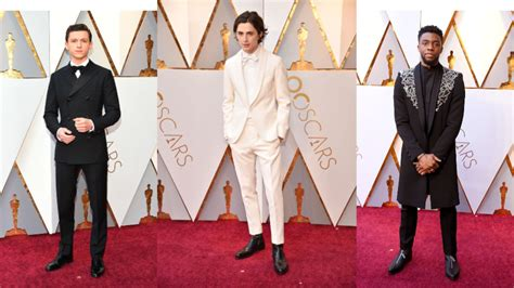 a fashion experts guide to the oscars red carpet video best dressed men of the 2018 oscars style fashion