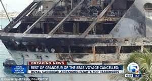 royal caribbean passenger recounts terrifying 12 hours on royal caribbean cruise terrifying moment fire engulfed