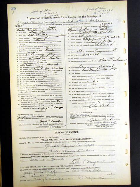 Maud menten marriage records