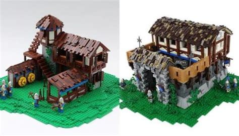 dev machine nier age of empires ii buildings in lego form n4g