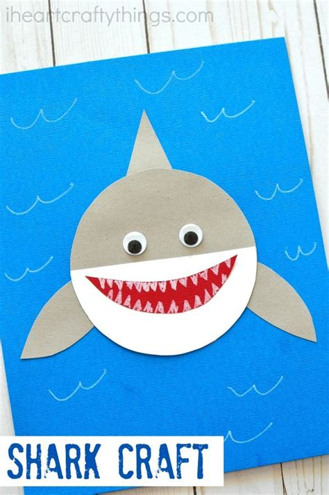 shark craft projects 25 unique crafts ideas on disney