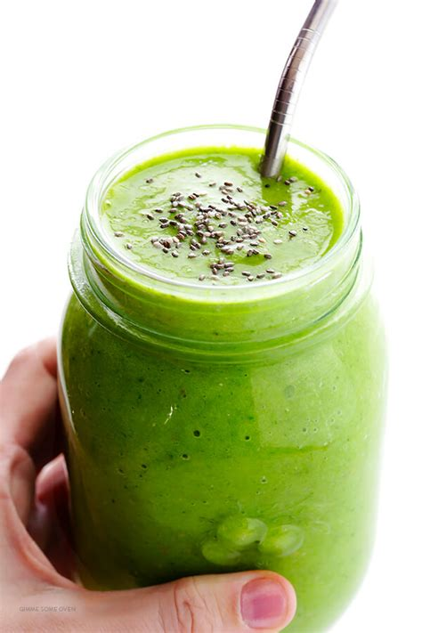 recipe for green energy drink post workout green smoothie gimmesomeoven