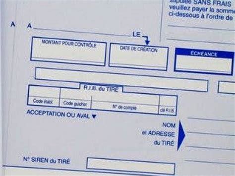 Pr Sentation Lettre De Change La Lettre De Change Pr 233 Sentation Et Fonctionnement