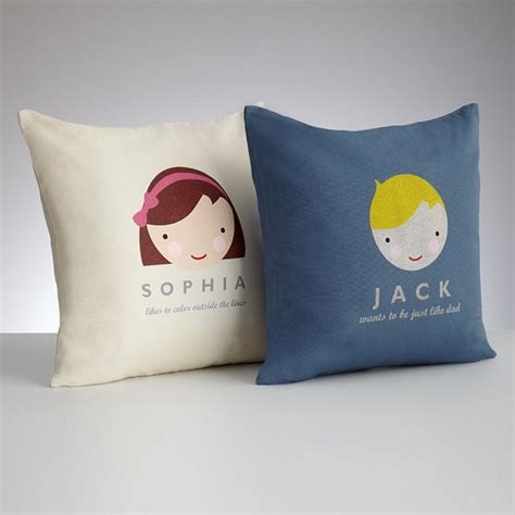 Personalized Pillows by Home Decorative Pillows On Home Decor Shops