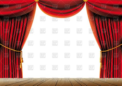 Curtains With Tassels Curtain Tassels Clip Cliparts