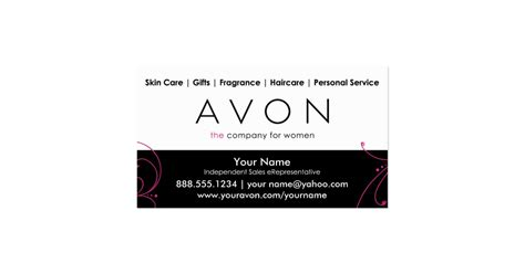 avon templates free business card template 187 avon business card template