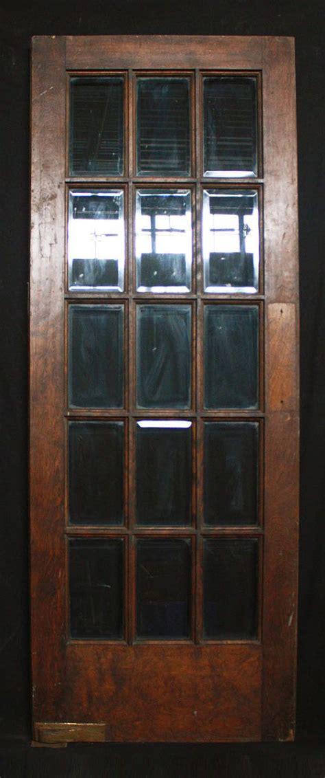 antique interior french swinging birch door