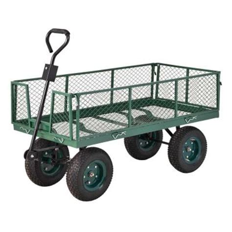 sandusky 5 cu ft 24 in w utility cart