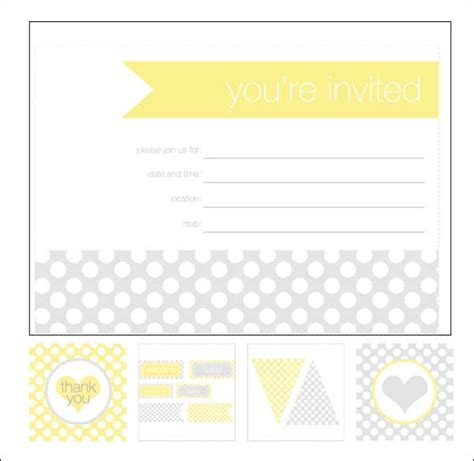 baby shower invitation card template free printable 4 fold free printable chevron baby shower invitations oxyline