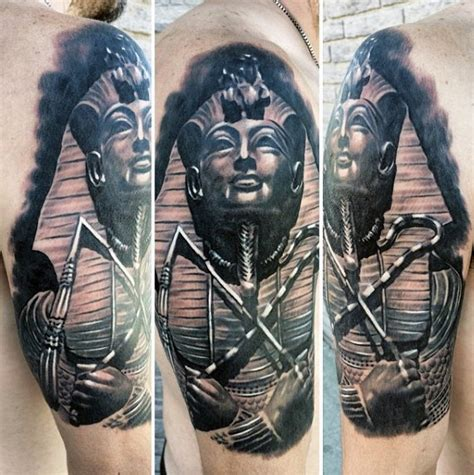 60 egyptian tattoos for men ancient egypt design ideas