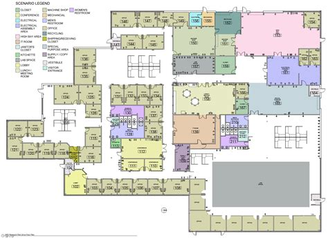 floor plan of a business floor plan