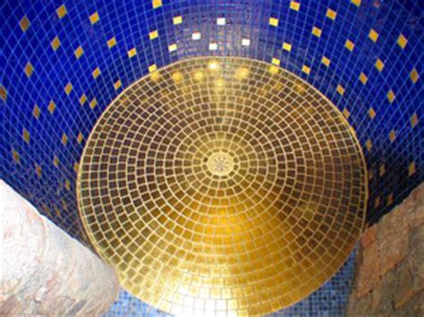 Follie Follie 9336 Semi Keramik badezimmer gold mosaik design