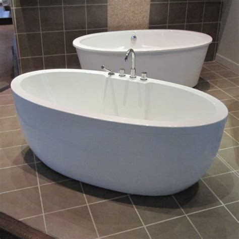 freestanding bathtub acryline vortex freestanding bathtub 6733fs discount