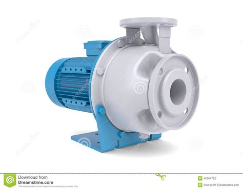 water pump motor stock illustration image 40304722