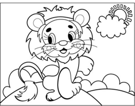 cute lion coloring pages cute lion sheets preschool coloring pages