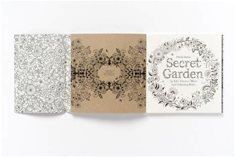 secret garden coloring book cover color and explore with secret garden an inky treasure