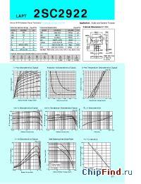datasheet transistor sanken 2sc2922 2sc2922 sanken silicon npn epitaxial planar transistor audio and general purpose