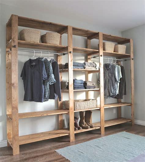 Make Your Own Wardrobe Closet by 25 Best Ideas About Diy Wardrobe On Wardrobe