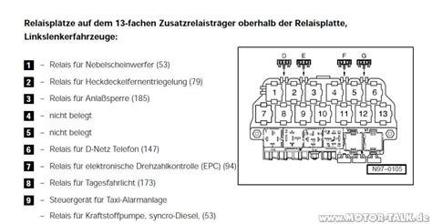 Audi A3 Anzeigesymbole by Relaisbelegung Nebelscheinwerfer Ohne Funktion Vw Golf