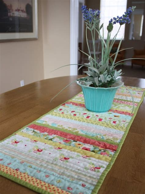 quilt as you go table runner quiltastic