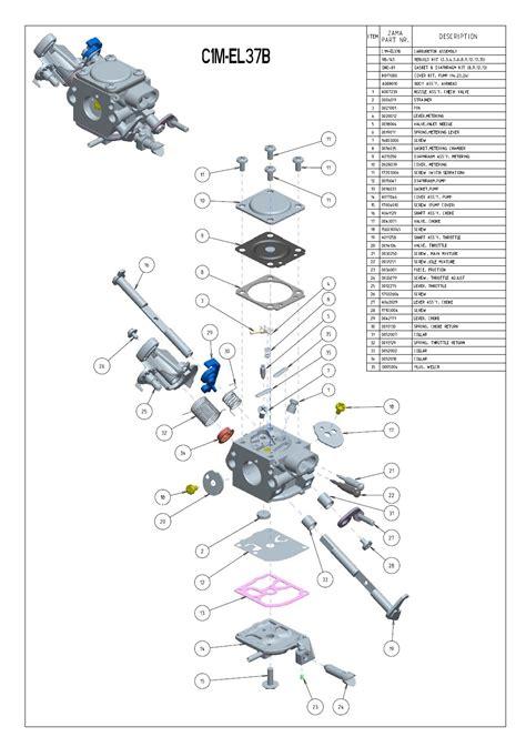 zama carburetor diagram zama c1q carburetor diagram circuit diagram maker