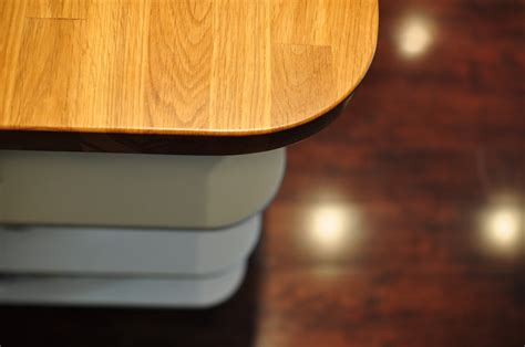 woodworking rounded corners custom kitchens designed and built by bassett s finishing