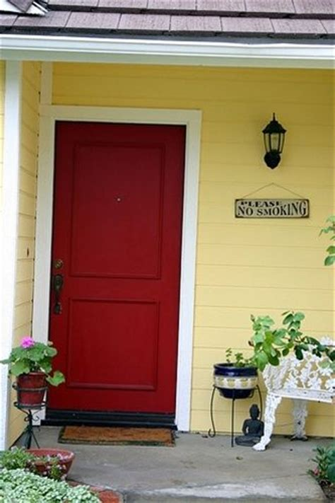 yellow house with red door yellow house with red door home pinterest