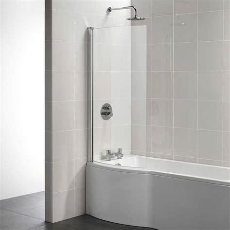 ideal standard tempo arc 820 x 1400mm shower bath screen