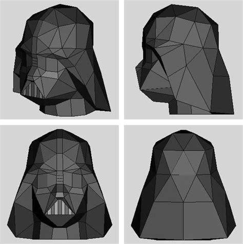 Origami Darth Vader Helmet - the world s catalog of ideas