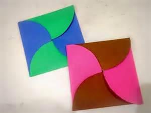 Origami For Birthday - diy easy paper envelope origami birthday card for