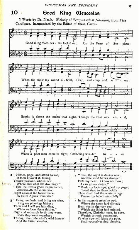 christmas carol lyrics good king wenceslas ichild tempus adest floridum