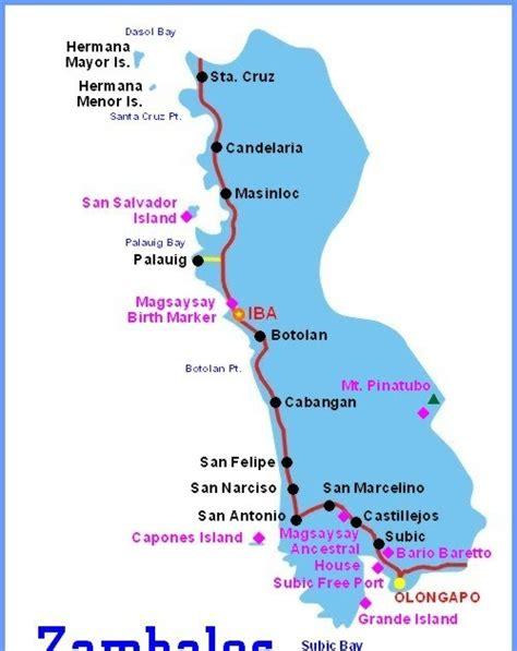 iba zambales resort map ph commute commuting to zambales