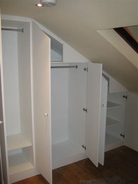 Loft Wardrobes 1000 images about closets with slanted ceilings on sloped ceiling slanted ceiling