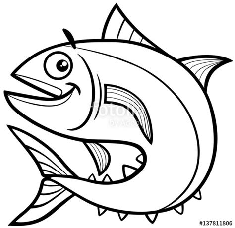 tuna fish coloring sheets coloring pages