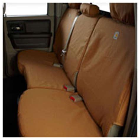 carhartt seat covers dodge ram 04 09 dodge ram carhartt rear cab bench w headrest