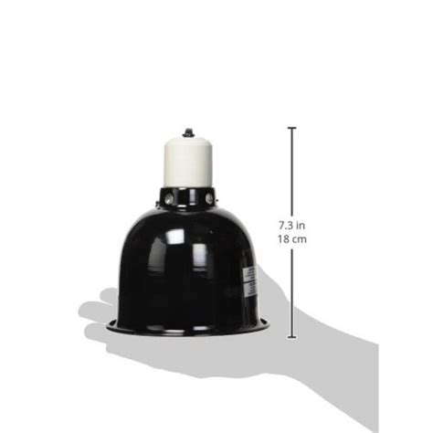 zoo med deep dome l fixture black zoo med mini deep dome l fixture with 5 5 inch dome