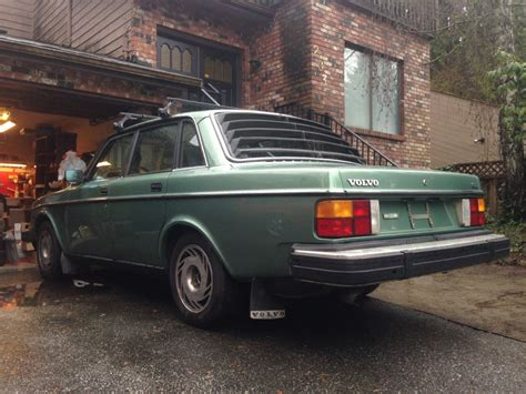 rare vintage volvo  series coupe sedan rear window louvers