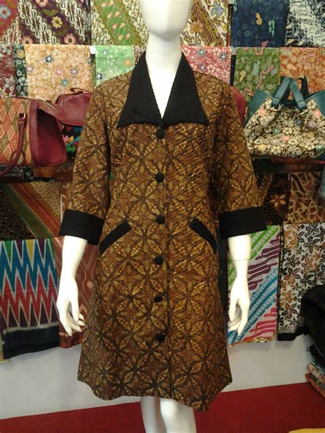 Tunik Batik Ayunda Dress Batik batiknyonyabetty batiknyonyabetty