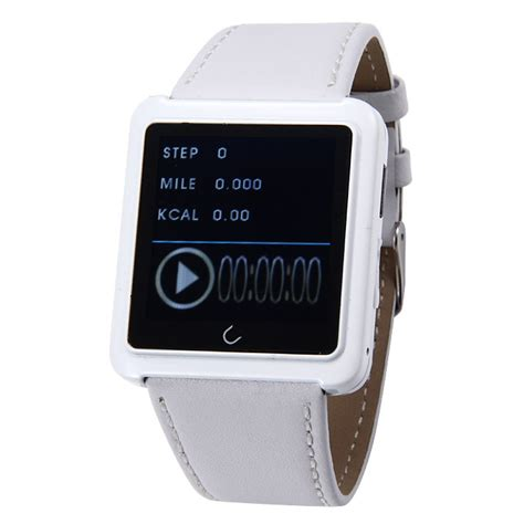 U U10 Smart White u10 u waterproof anti lost bluetooth smart