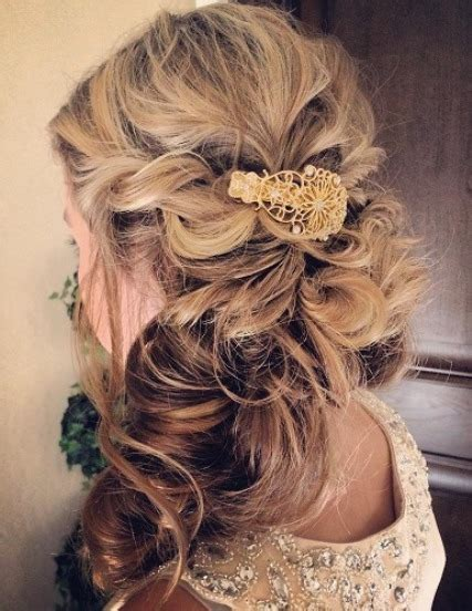 Wedding Hairstyles Half Up With Curls by 20 Best Half Up And Half Wedding Hairstyles