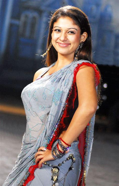 Nayanthara Hot Saree Navel | nayanthara beautiful saree stills nayanthara latest