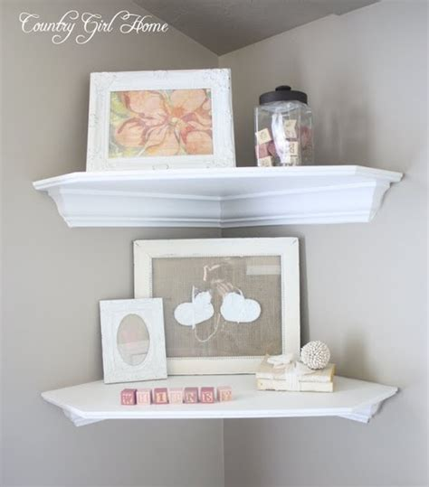 corner shelving for nursery home decoration and